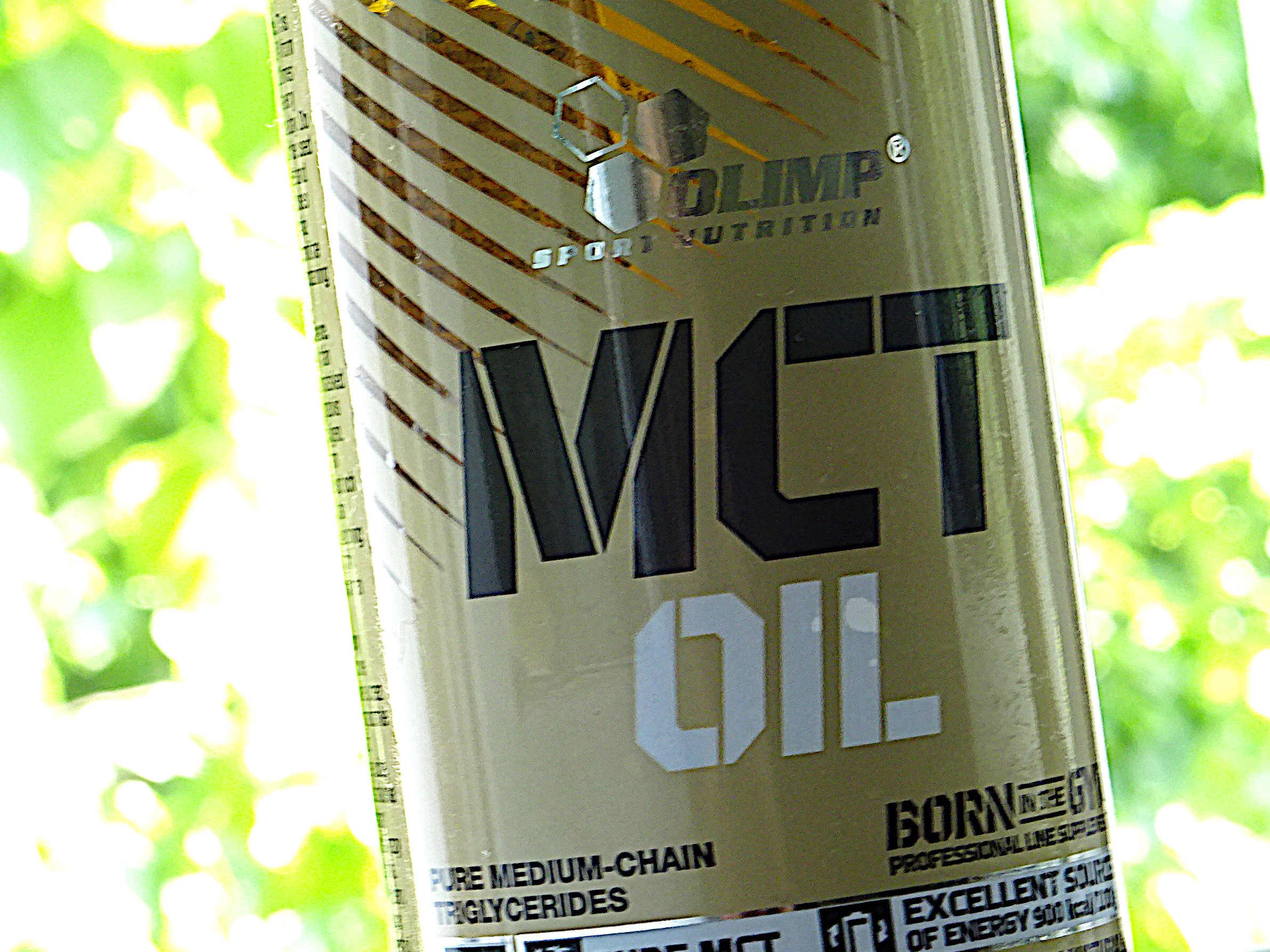 MCT Öl von Olimp in der PET-Flasche